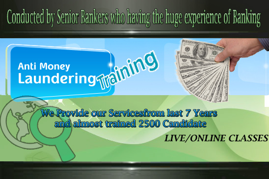 Anti Money Laundering  Training
