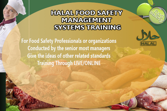 Halal Food Safety Standard and Management Training Course in