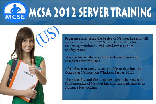 MCSA 2012 Server Training