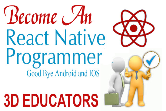 Learn React Native for Android and Apple IOS Application