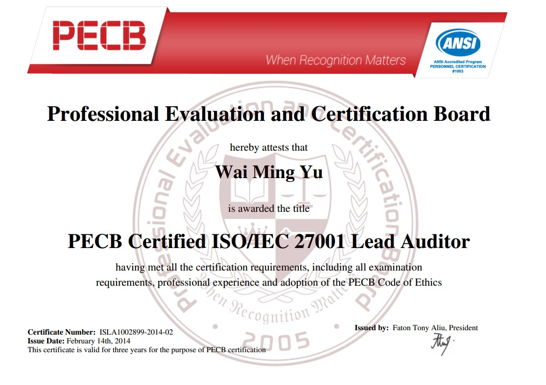 Iso 27001 lead auditor training program in pakistan through pecb iso 20000 itsm bs 25999 lean six sigma compliance and audit quality assurance policy and procedure development implementation and training 1betcityfo Gallery