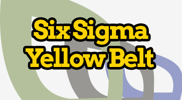 Online six sigma Yellow Belt certification in Pakistan, Online 6 Sigma Training in pakistan