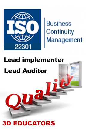 Learn ISO 22301 Business Continuty Management System