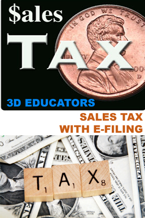 Learn Sales Tax-E-Filing