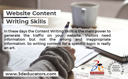 Learn Web Content Writting